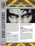RPG Item: Urban Magica 2