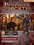 RPG Item: Pathfinder 2 Society Scenario 2-10: In Burning Dawn