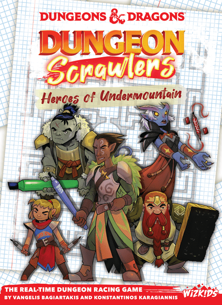 Dungeon Scrawlers Print & Play Demo   Dungeons & Dragons: Dungeon Scrawlers – Heroes of Undermountain