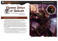 RPG Item: Demon Prince of Undead Conversion H3: Pyramid of Shadows