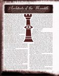 RPG Item: Bloodline: Architects of the Monolith