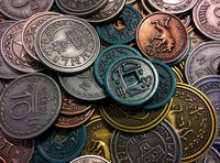 Board Game Accessory: Scythe: Metal Coins