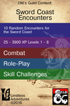 RPG Item: Limitless Encounters: Sword Coast Encounters