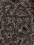 RPG Item: VTT Map Set 203: Winding Tunnels