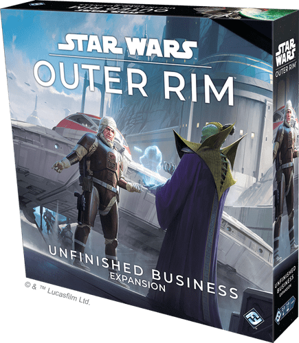 Board Game: Star Wars: Outer Rim – Unfinished Business