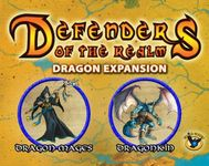Board Game: Defenders of the Realm: Minions Expansion – Dragonkin