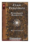 RPG Item: Class Expansions: Bloodrager Bloodlines