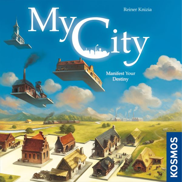 My City, KOSMOS, 2020 — front cover, English edition (image provided by the publisher)