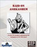 RPG Item: Raid on Ashkashem