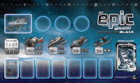 Board Game Accessory: Tiny Epic Galaxies: Beyond the Black – Game Mat