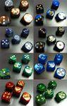 Board Game Accessory: Summoner Wars: Custom Faction Dice