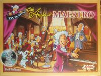 Board Game: Little Amadeus Maestro
