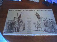 Board Game: The War in Virginia: 1862-1865