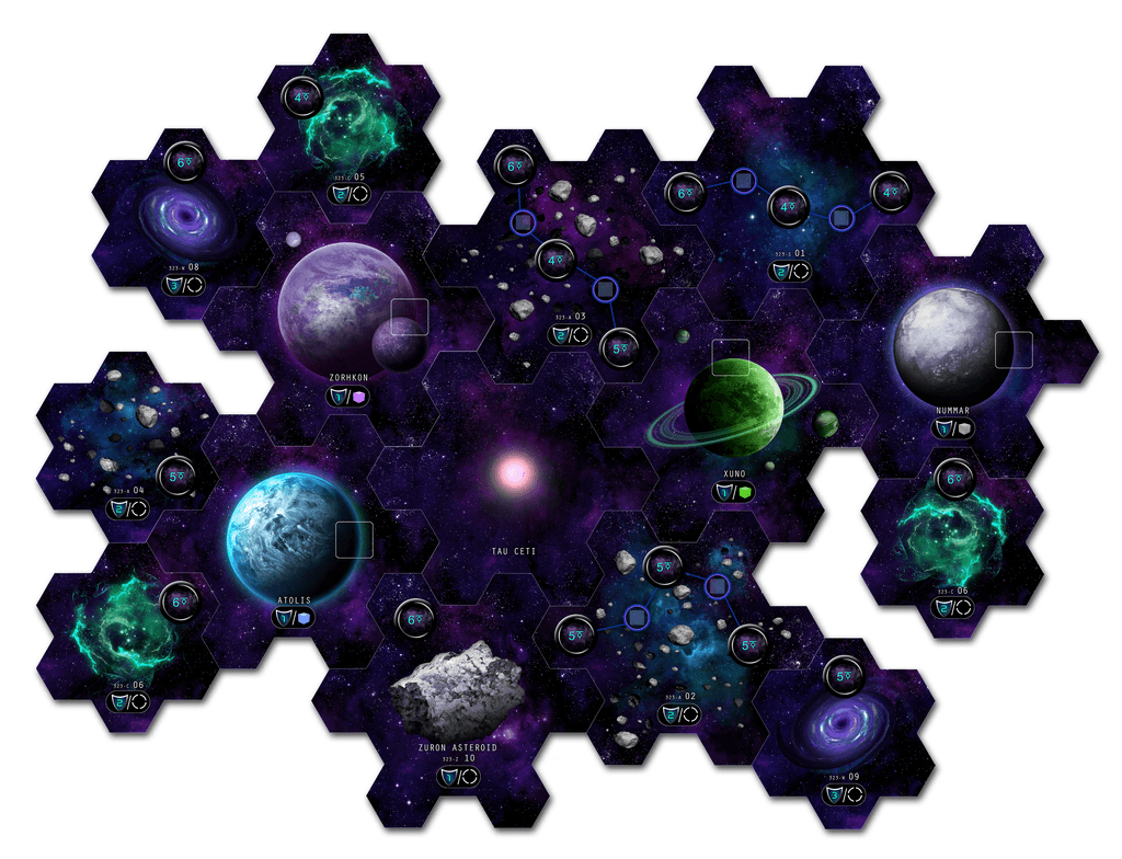 Board Game: Tau Ceti: Planetary Crisis