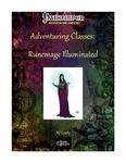 RPG Item: Adventuring Classes: Runemage Illuminated