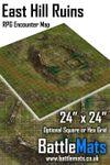 RPG Item: East Hill Ruins RPG Encounter Map