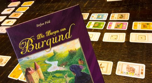 Board Game: The Castles of Burgundy: The Card Game
