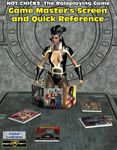 RPG Item: The Hot Chicks GM's Screen and Quick Reference