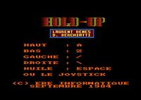 Video Game: Hold-Up