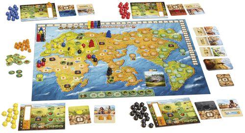 Board Game: Fire & Stone