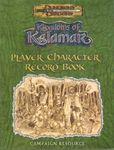 RPG Item: Player Character Record Book