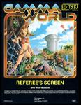RPG Item: Gamma World Referee's Screen and Mini-Module