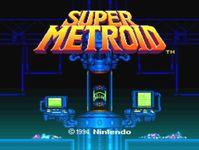 Video Game: Super Metroid
