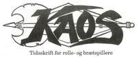 Periodical: Kaos (Danish)