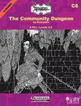 RPG Item: C06: The Community Dungeon