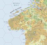 RPG Item: Atlas Hârnica Map D7