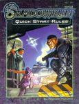 RPG Item: Shadowrun Quick Start Rules