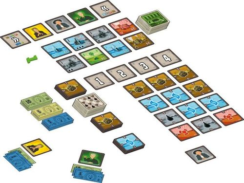 Board Game: Power Grid: The Card Game