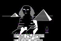 Video Game: Beneath the Pyramids