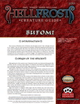 RPG Item: Hellfrost Creature Guide: Bufomi