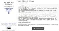 RPG Item: Apple of Discord
