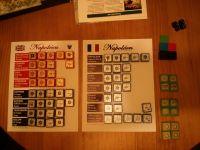 Napoléon, 4th Edition, stickered blocks and spares