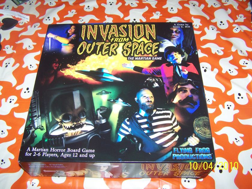 invasion from outer space essay Description: invasion from outer space, the martian game is a fast-paced game of fiendish martians, big top heroes, and scifi movie action players take on the role of either the carnival heroes, using their special talents and working together to fight off the martian invasion or as the invaders themselves, waves of martian soldiers and.