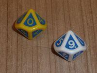 RPG Item: Aberrant Dice Set