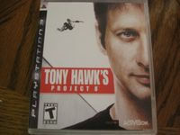 Video Game: Tony Hawk's Project 8