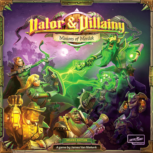 Board Game: Valor & Villainy: Minions of Mordak
