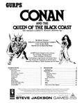RPG Item: GURPS Conan and the Queen of the Black Coast