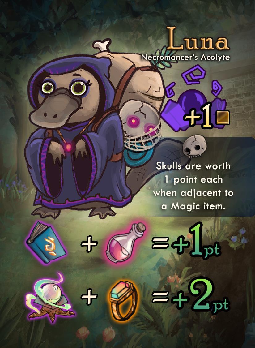 Squire for Hire: Luna