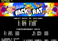 Video Game: Peter Pack Rat