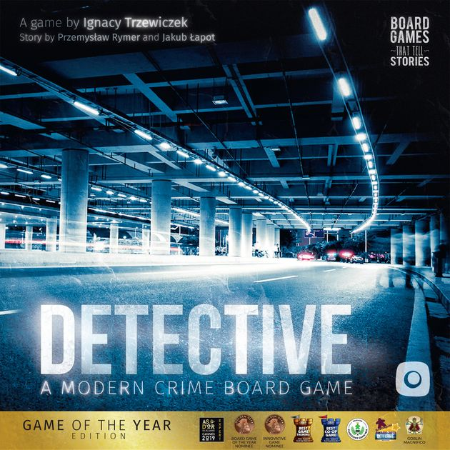 Detective A Modern Crime Board Game Board Game Boardgamegeek