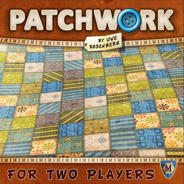 Patchwork, Mayfair Games, 2014 (image provided by the publisher)