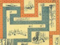 Board Game: Winnie the Pooh's Race Game