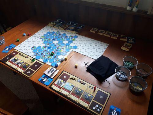 Board Game: Buried Treasure: An Open World Pirate Game