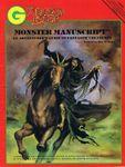 RPG Item: Monster Manuscript
