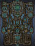RPG Item: VTT Map Set 130: The Cerulean Court