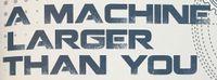 RPG: A Machine Larger Than You